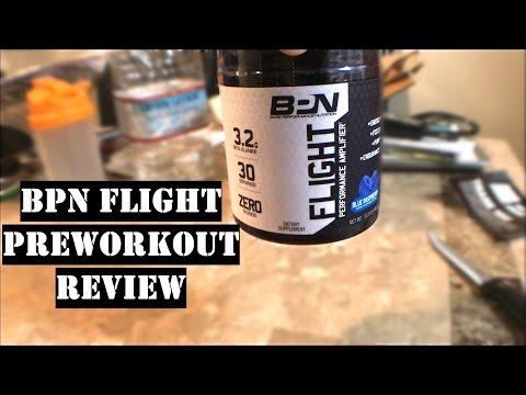 BPN Flight Preworkout Review | Taste Test | Vlog #15