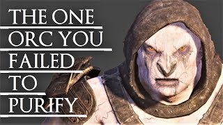 Shadow of War: Middle Earth™ Unique Orc Encounter & Quotes #222 THE SPECTER/WRAITH-TOUCHED URUK