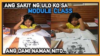 ANG HIRAP NG MODULE CLASS SAKIT SA ULO
