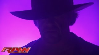 The Undertaker shows no remorse: Raw, Aug. 17, 2015
