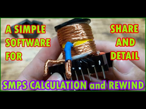 ferrite-transformer-turns-calculation-and-rewind-transformer- -500w-smps-short-circuit-protect