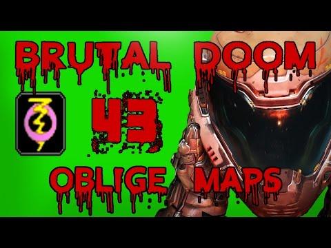 Brutal Doom Oblige Maps #43 *1440p 60fps*