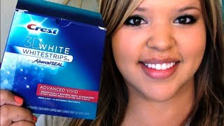 Review & Demo- CREST 3D WHITE WHITESTRIPS ADVANCED VIVID(, 2012-06-07T00:58:01.000Z)