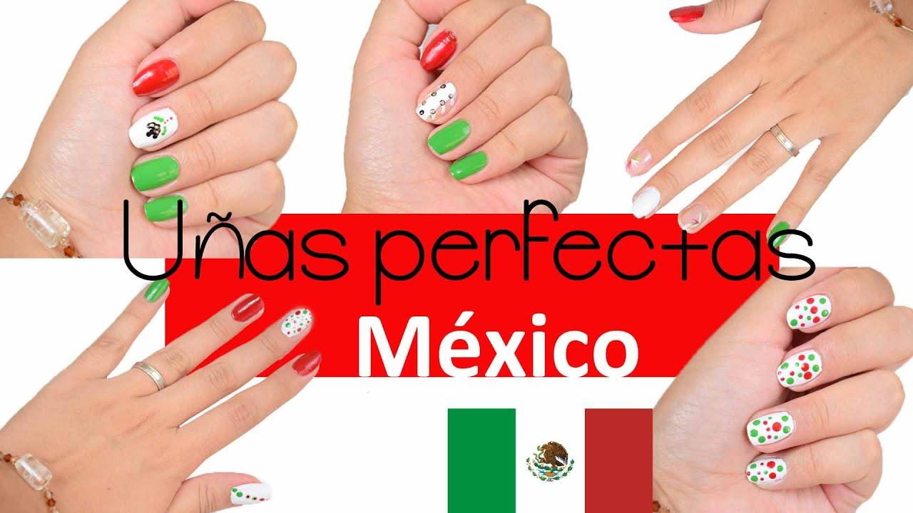 Diseño de uñas/ 16 de Septiembre ♡ Belleza || Likesely * México ...