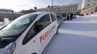 Coolest experiment on the planet: Electric Vehicle Drive in a below -20°c freeze
