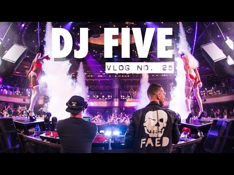 LAUNCHED A NEW PARTY AT JEWEL IN LAS VEGAS!!! DJ FIVE VLOG 25