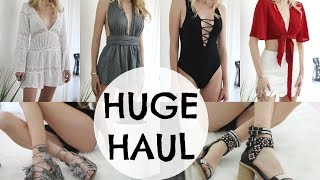 HUGE SUMMER TRY-ON HAUL / LF, Free People, NastyGal
