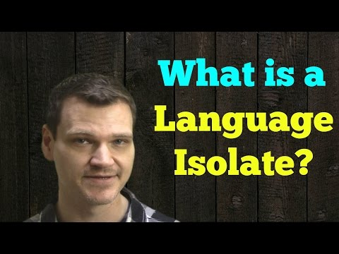 Language Isolates - Lonely Languages With No Family (Quick Video)