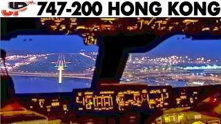 Fantastic 747 Dawn Approach into Hong Kong (2005) thumbnail