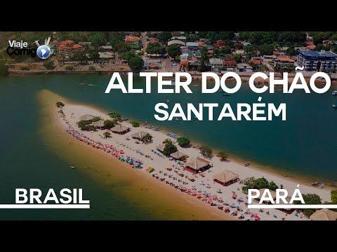 ALTER DO CHÃO - SANTARÉM - PARÁ | Série Viaje Comigo