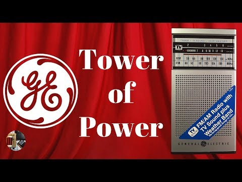 Tower of Power GE 7-2934A AM FM TV WB Radio Review