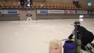 Пушка. Вратарь. Хоккей с мячом. Сандвикен.