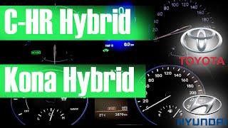 Hyundai Kona Hibrit Vs Toyota C-hr Hibrit