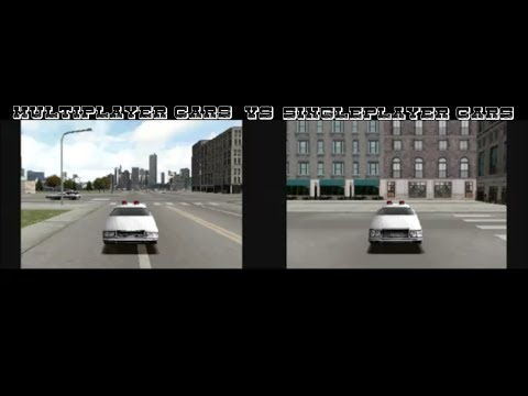 Driver 2 - Single Player Cars Vs Multiplayer Cars - Part 1 Of 4 - Chicago