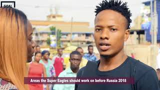 Which areas should Nigeria Super Eagles improve on before Russia 2018?