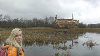 Ruiny na wyspie