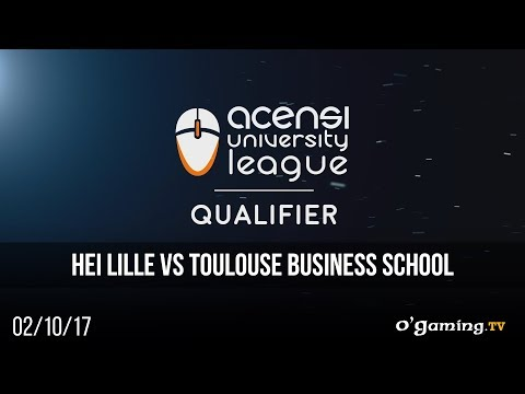 HEI Lille vs Toulouse Business School - Acensi University League - Qualifier M1 - League of Legends