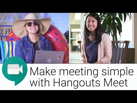 New Video Conferencing Experience with Hangouts Meet | The G Suite Show