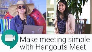 Neue Video-Conferencing-Erfahrung mit Hangouts Treffen | Die G-Suite Zeigen