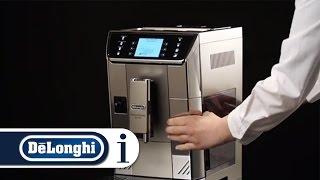 How to set up the appliance on your De'Longhi PrimaDonna Elite ECAM 650.55