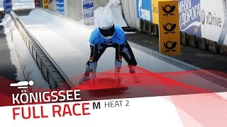 KÖnigssee | BMW IBSF World Cup 2016/2017 - Men's Skeleton Heat 2 | IBSF Official