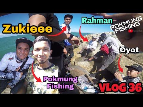 Landbase Jigging Bersama Zukiee Dan Lavina Anglers Di Terengganu | Zukiee Paling Banyak Strike!!!