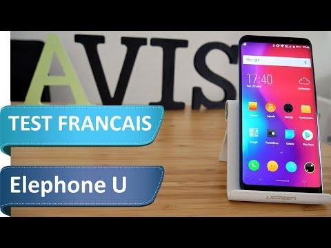 Test de l'Elephone U - Le plus beau smartphone Chinois de 2018