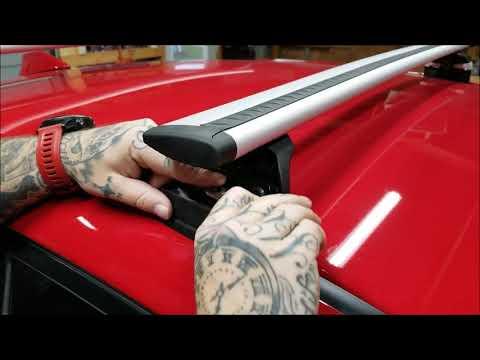 Thule Subaru WRX roof rack. How to install.