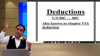 Deduction u/s 80C || Amit Kumar Classes ||