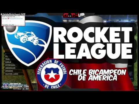 CHILE BICAMPEON! Rocket League EN VIVO en Español - GOTH