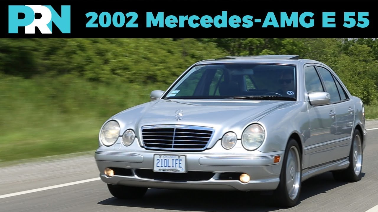 U0027The Rocketu0027 Mercedes Benz E55 AMG | TestDrive Spotlight