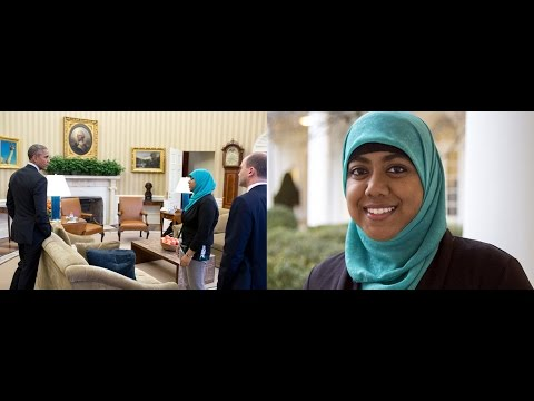 A Young Muslim woman Advisor to the White House.