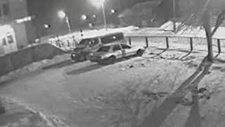 Бердичів. Підпал авто 5 березня 2018 року біля травмпункту