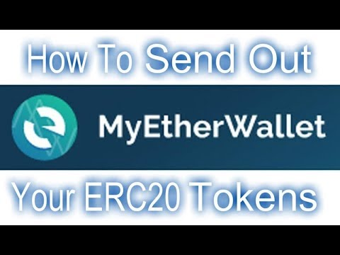 MyEtherWallet - How To Send Out ERC20 Tokens