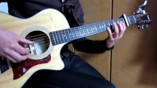 """Cloe"" acoustic guitar solo,Yoko Kanno"