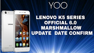 Lenovo Vibe K5 Series Officialy Update With Original Quality Clear Proof || Enjoy