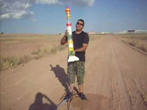 Cohete de agua bvj 5 espuma youtube for Como construir una pileta de agua