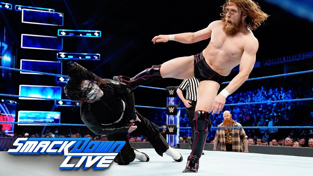 Jeff Hardy vs. Daniel Bryan: SmackDown LIVE, Feb. 5, 2019