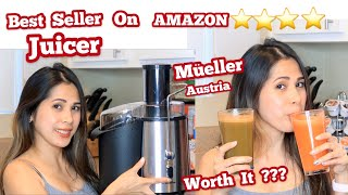 Müeller Austria Juicer || Testing + Demo