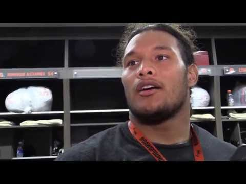 Danny Shelton looks to produce more this season for the Browns