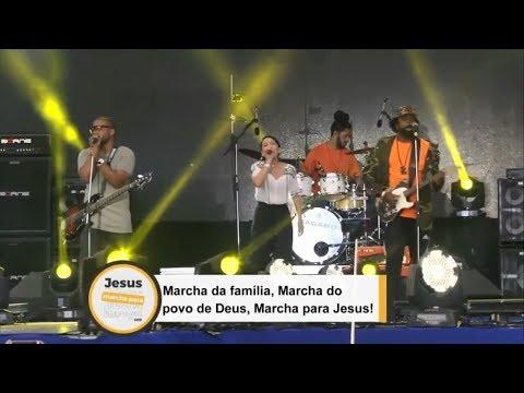 Preto no branco feat. Priscilla Alcântara 😱 | Marcha Para Jesus 2018 | ME DEIXE AQUI