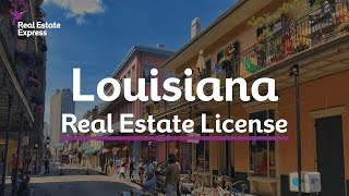 How To Get A Louisiana Real Estate License Youtube
