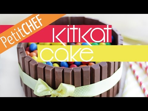 Recipe KitKat Cake Step by step Petitchefcom YouTube