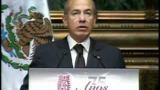 75 Aniversario del Instituto Politécnico Nacional - Presidente Calderón