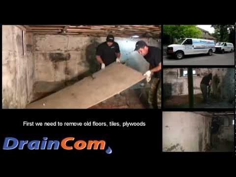 Basement Lowering and Underpinning (Draincom.com)