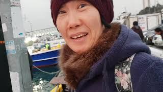 2018년11월18일 아침갈치조황..뉴여명호. 대박 ^…