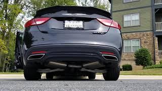 2016 Chrysler 200S V6 Corsa Exhaust