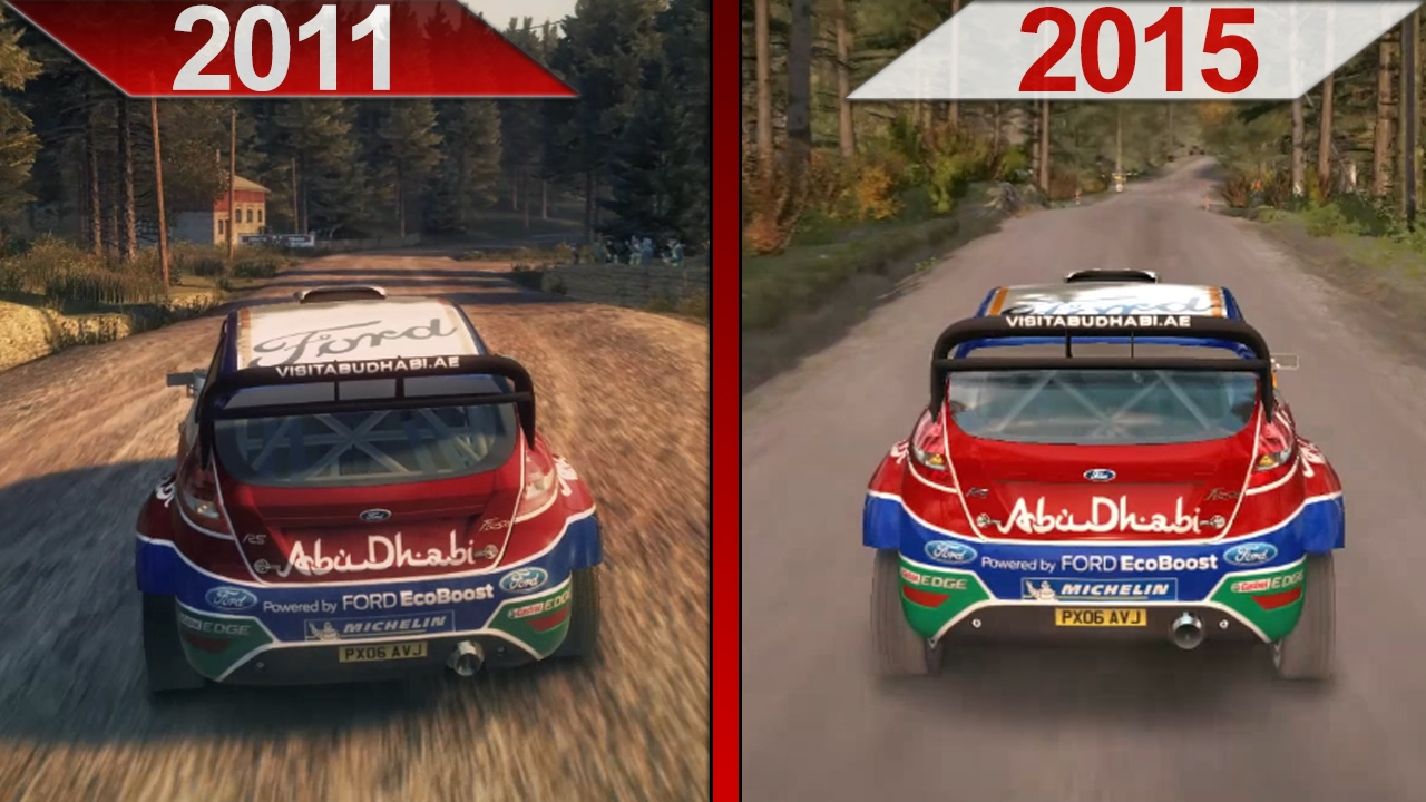 comparison dirt3 2011 ultra vs dirt rally 2015. Black Bedroom Furniture Sets. Home Design Ideas