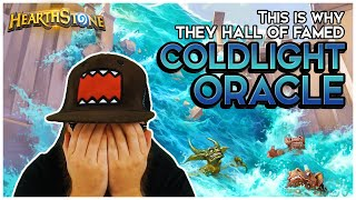THIS is why they HALL OF FAMED Coldlight Oracle | Hearthstone | Descent of Dragons