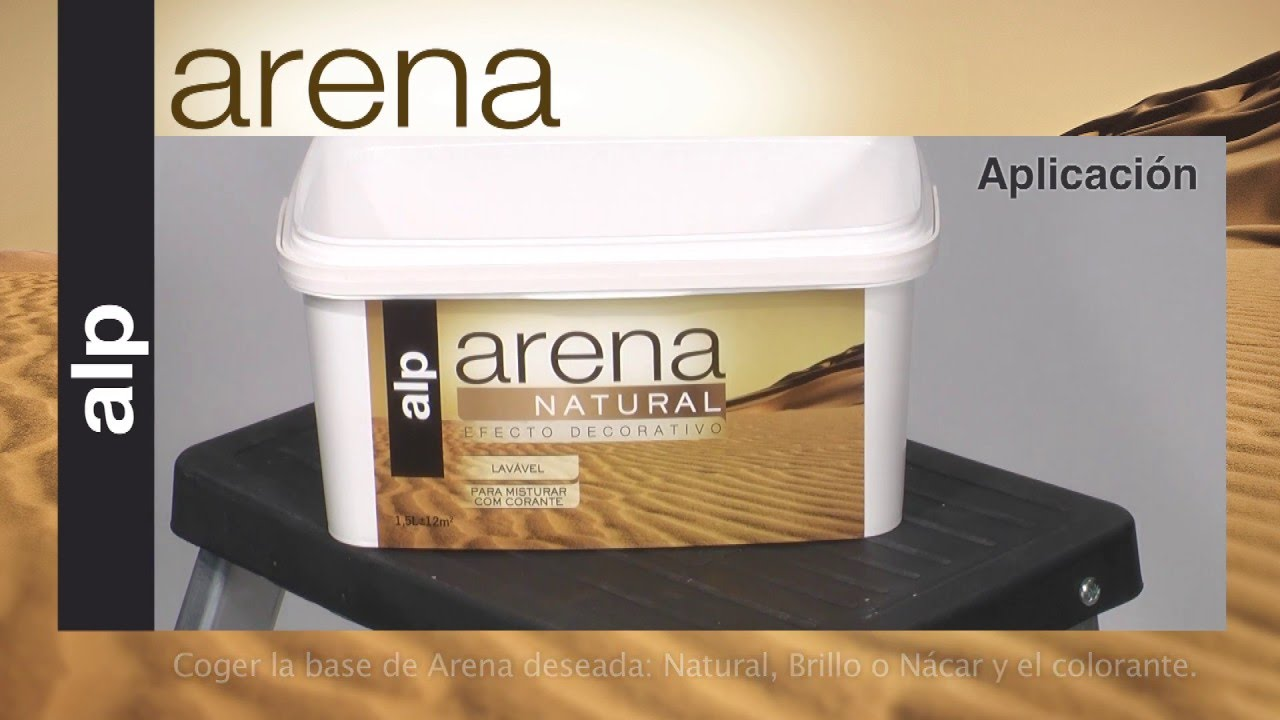 C mo aplicar pintura efecto arena youtube for Pintura color arena paredes